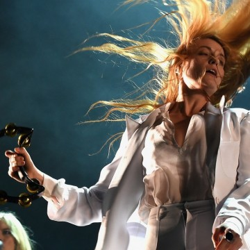 INDIO, CA - APRIL 12:  Singer Florence Welch of Florence and the Machine performs onstage during day 3 of the 2015 Coachella Valley Music & Arts Festival (Weekend 1) at the Empire Polo Club on April 12, 2015 in Indio, California.  (Photo by Kevin Winter/Getty Images for Coachella)