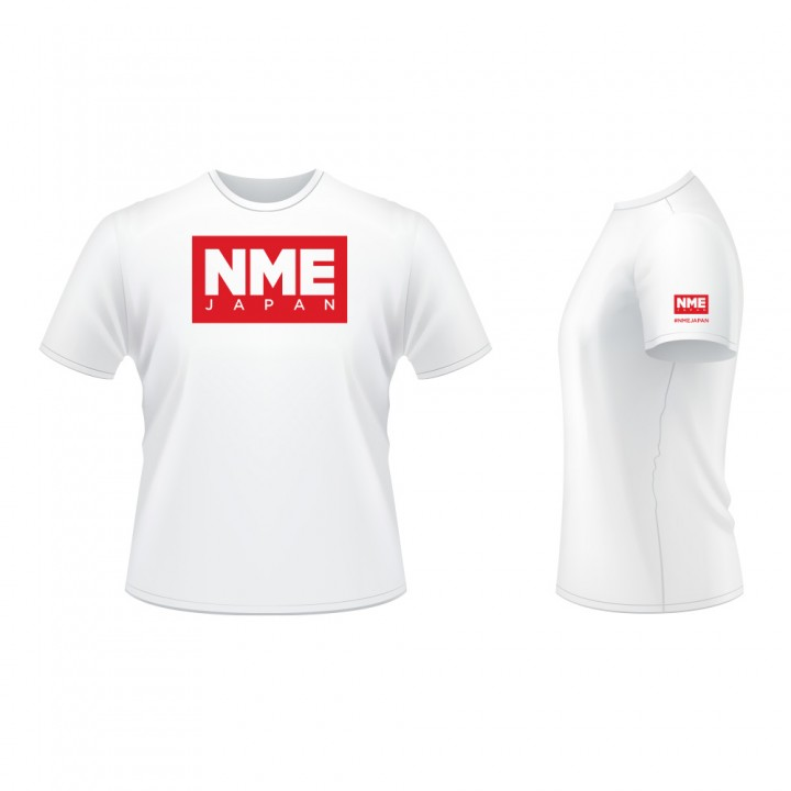 NME T-shirts WHITE