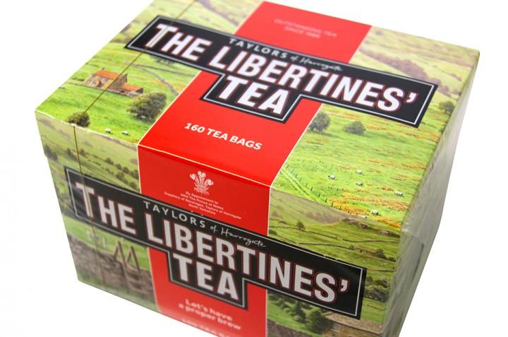 ザ・リバティーンズの紅茶でよき一杯を