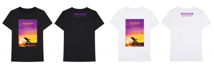 Queen Sunset Bohemian Rhapsody Movie T-Shirt