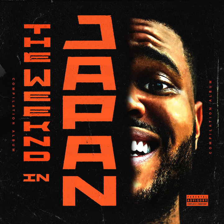 THE WEEKND IN JAPAN JEWEL CASE - COVER FRONT (EXPLICIT)