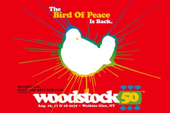 ウッドストック50周年を記念した...
