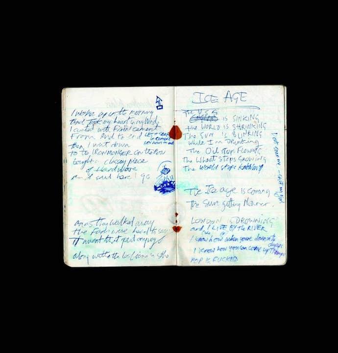joe-strummers-note-book