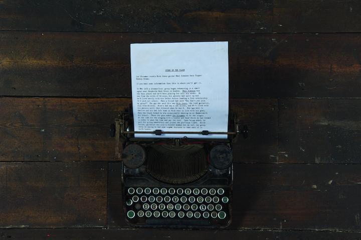 joe-strummers-typewriter