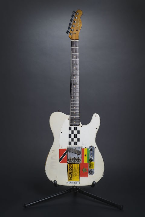 White 1959 Fender Esquire used by Joe Strummer.
