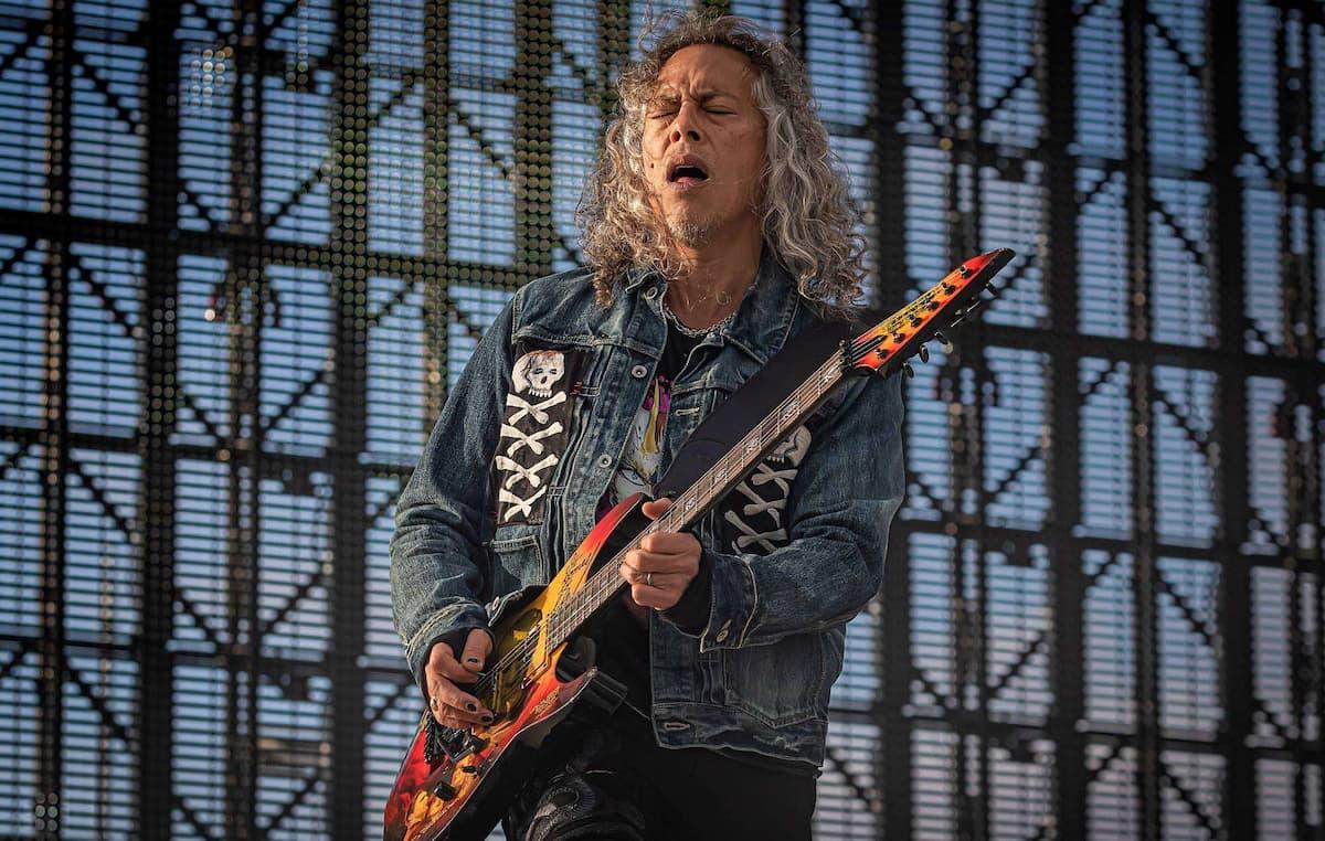 """メタリカのカーク・ハメット、""""One""""のミュージック・ビデオで使用されたギターがオークションに"""